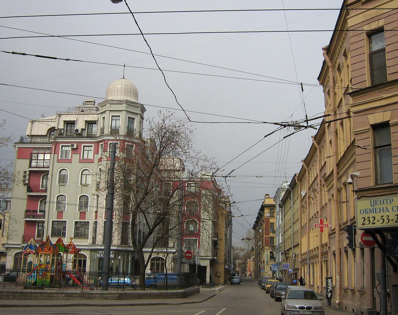 Бармалеева улица. Фото: Potekhin