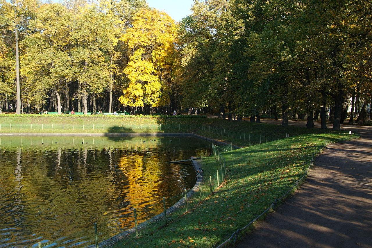 Карпиев пруд до реконструкции. 2008 г. Автор фото: Евгений Со (Wikimedia Commons)