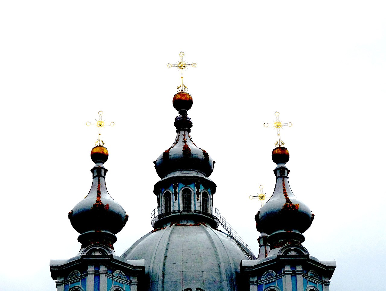 Смольный собор. Звонница. Фото: michael clarke stuff (Wikimedia Commons)