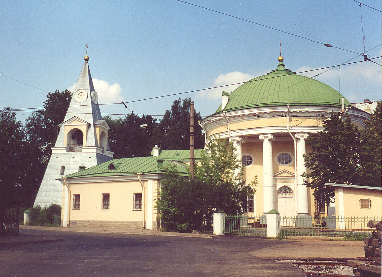 """Троицкая церковь """"Кулич и Пасха"""". Автор фото: Витольд Муратов (Wikimedia Commons)"""