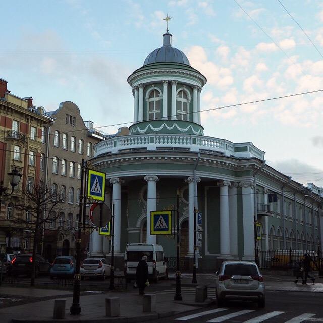 Фурштатская улица, Лютеранская церковь Святой Анны, 2018. Фото: Annenharta (Wikimedia Commons)