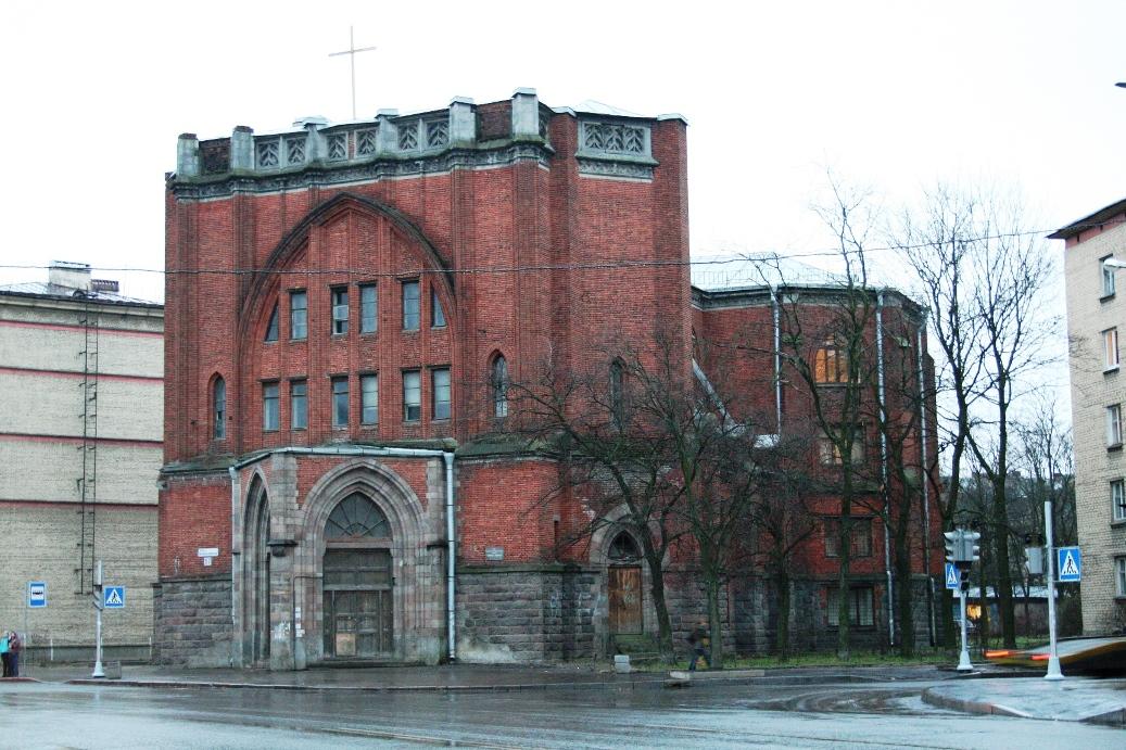 Католическая церковь Святейшего Сердца Иисуса. Автор фото: Grzadam (Wikimedia Commons)