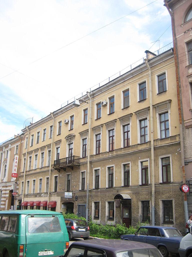 Дом А. У. Денфера, Моховая, 12 Фото: Skydrinker (Wikimedia Commons)