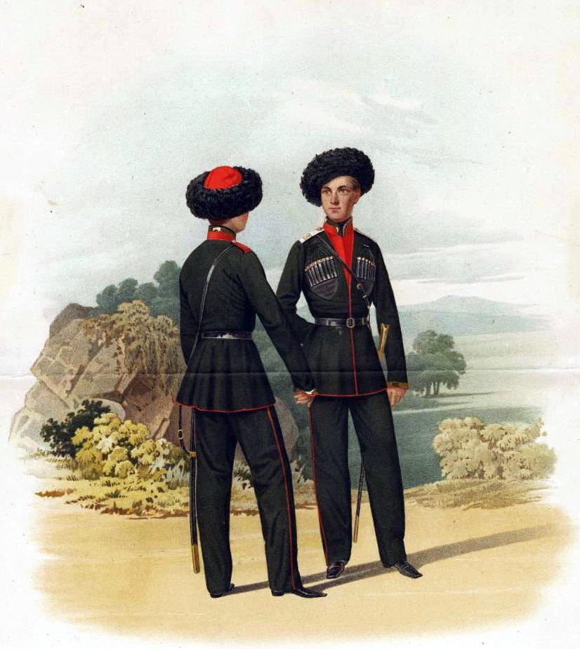 Пиратский К. К. Воспитанники из горцев 1-го и 2-го Кадетских корпусов. 1855 г. Фото: Wikimedia Commons