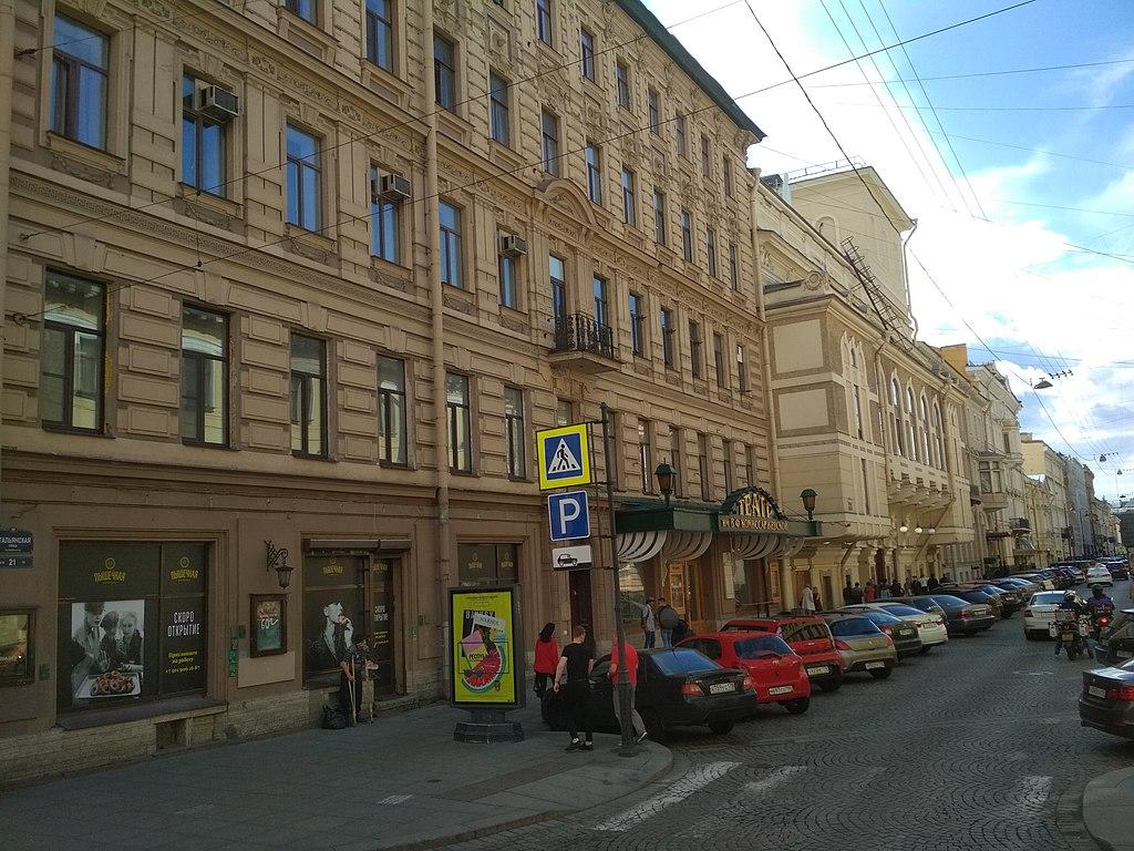 13. Театр имени В. Ф. Комиссаржевской. Фото: Lesless (Wikimedia Commons)