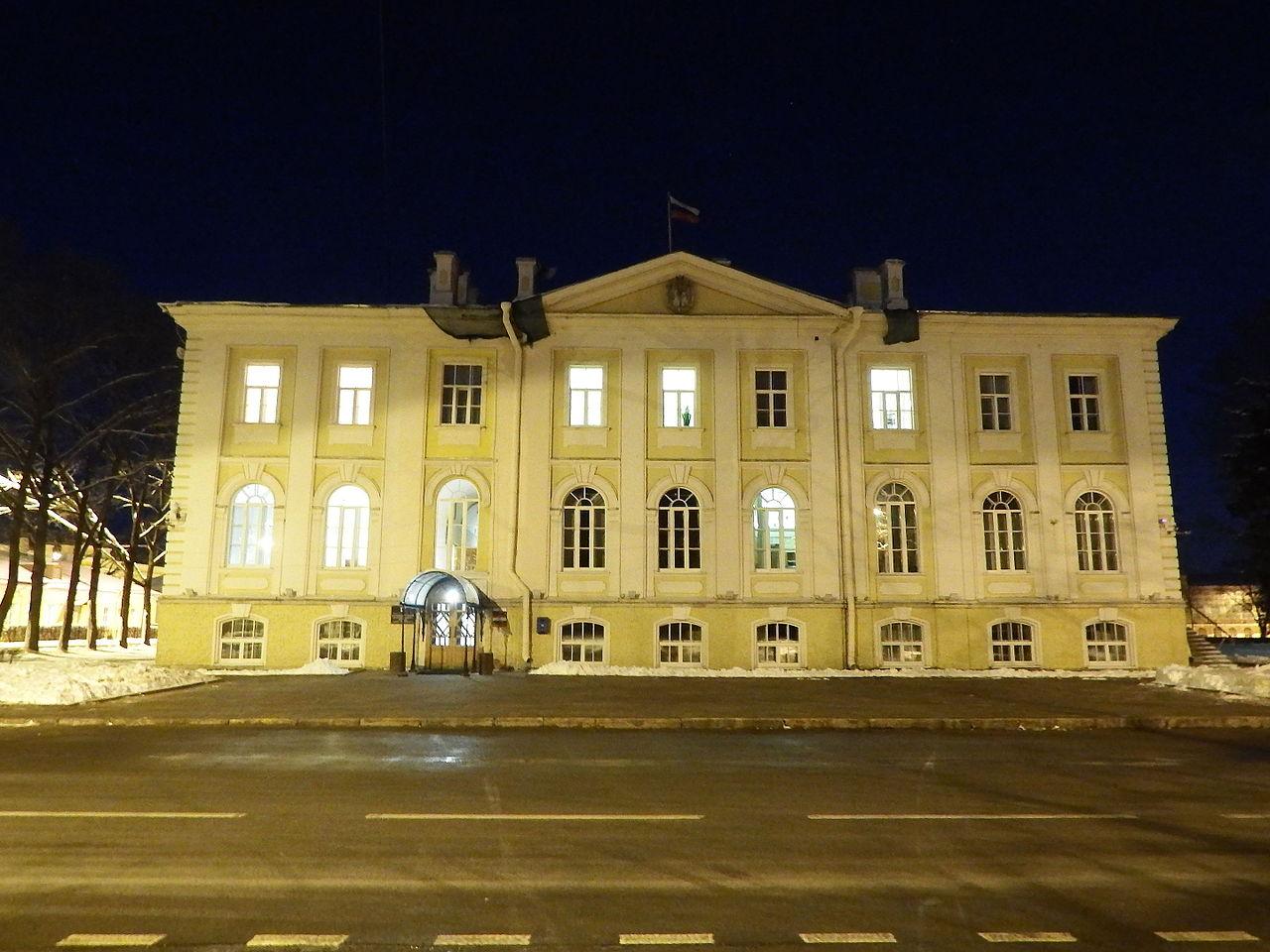 Администрация Петродворцового района. Автор фото: Professor Caretaker (Wikimedia Commons)