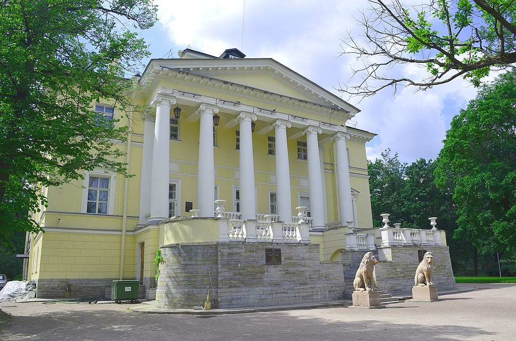 Пушкинский район. Запасной дворец. Фото: GAlexandrova
