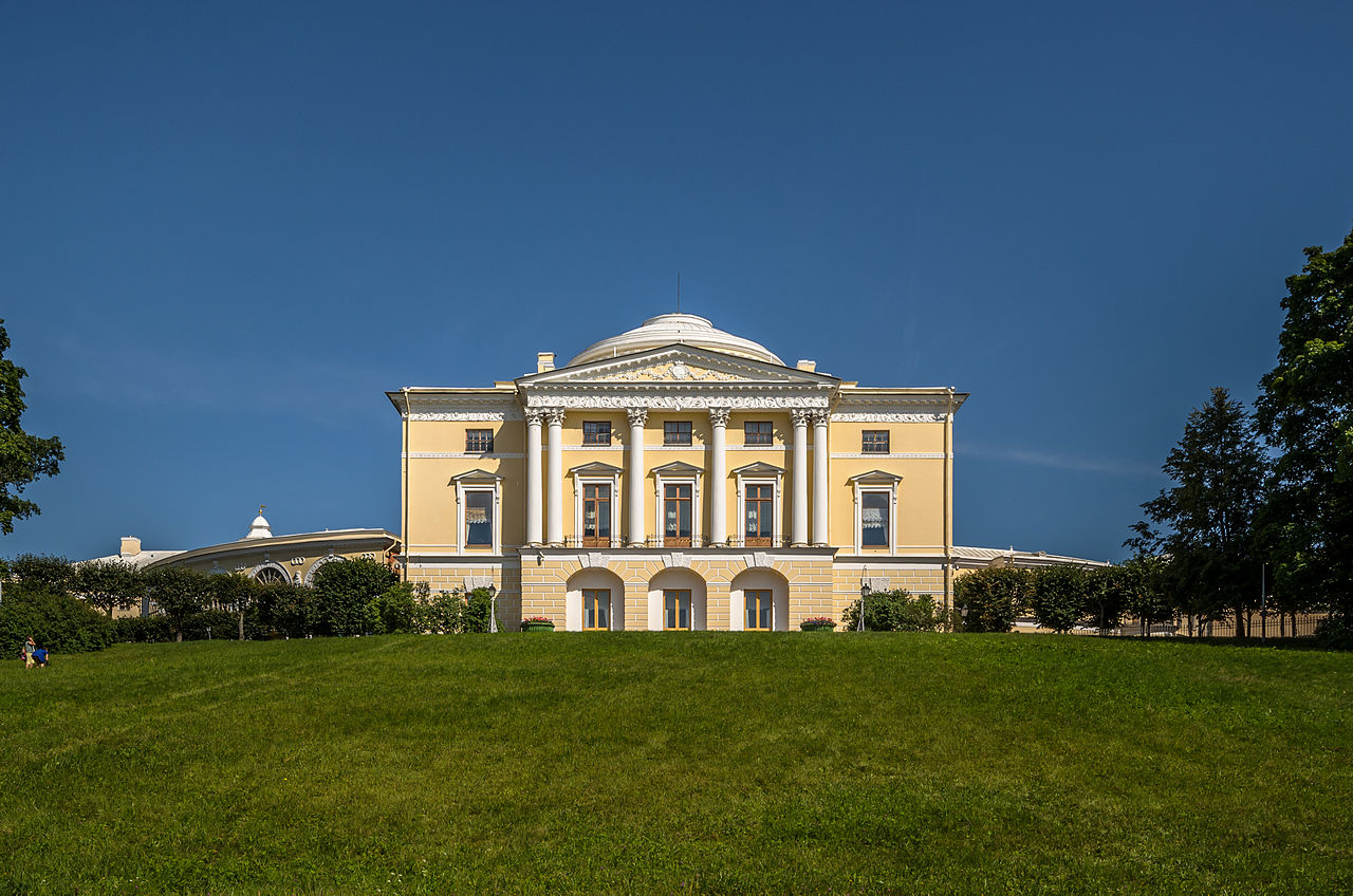Павловский дворец. Автор фото: Florstein (WikiPhotoSpace)