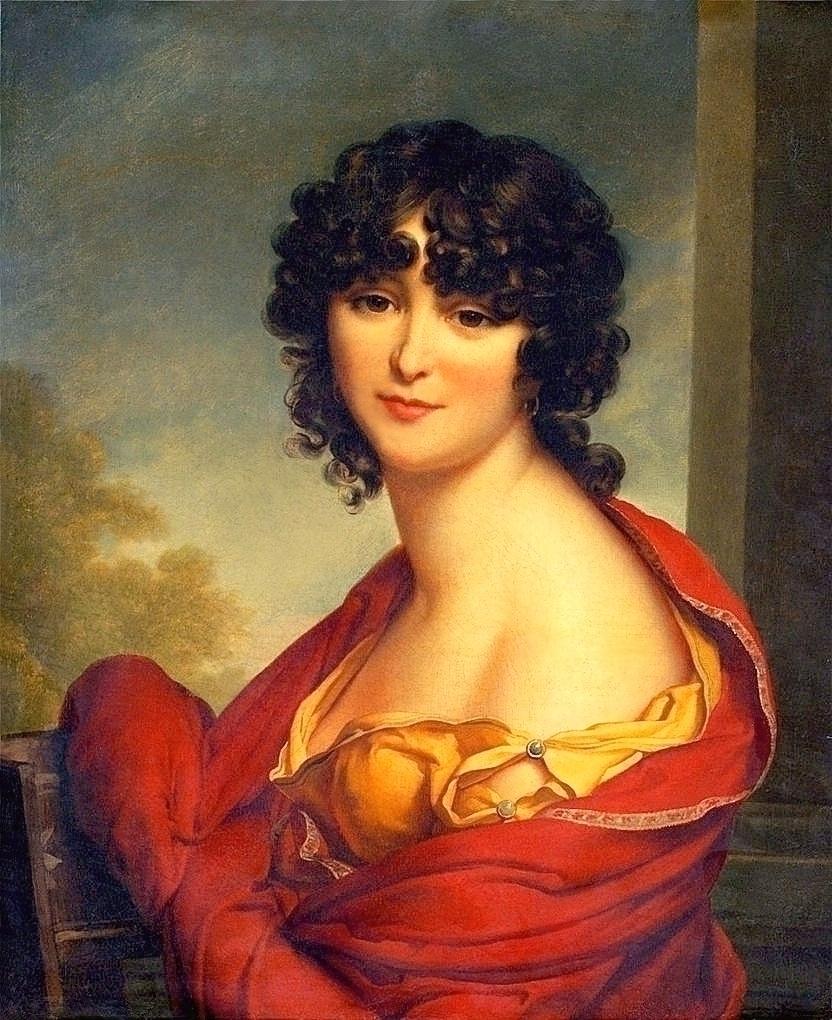 Портрет Голицыной А. И. Автор: Грасси, Иосиф Мария
