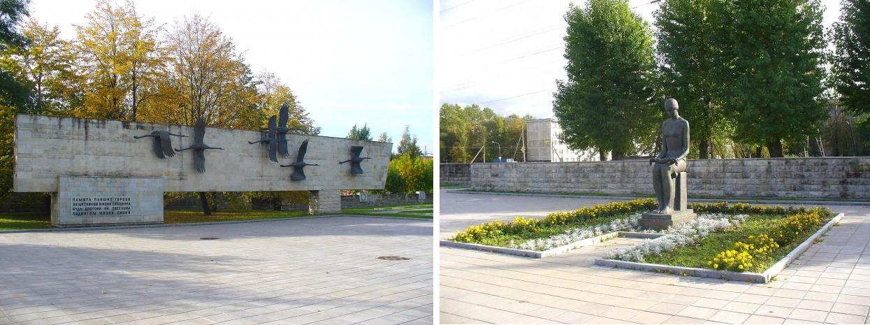 "Мемориал ""Журавли"". Автор фото: peterburzhets http://www.citywalls.ru"