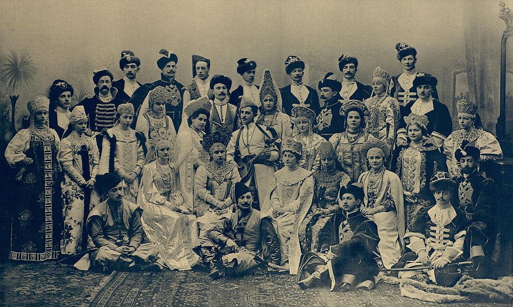 Гости бала. Фото: Фридрих Людвиг Германович Шрадер (Wikimedia Commons)