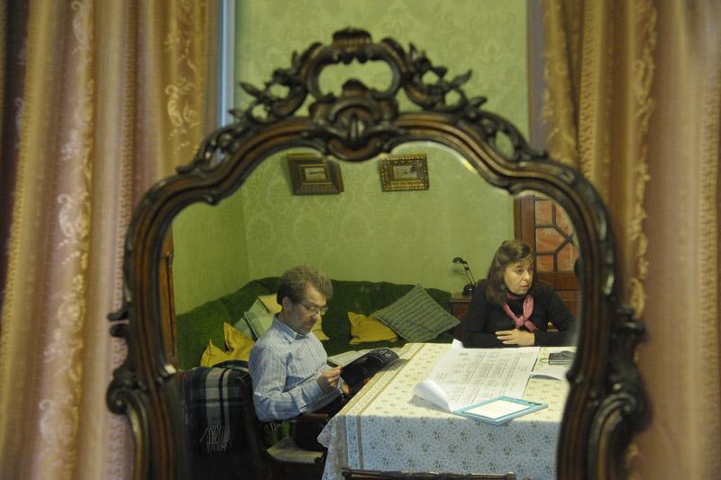 Александр Семёнов‑Тян-Шанский и его жена Елена Галченко — в зеркале знаменитого предка