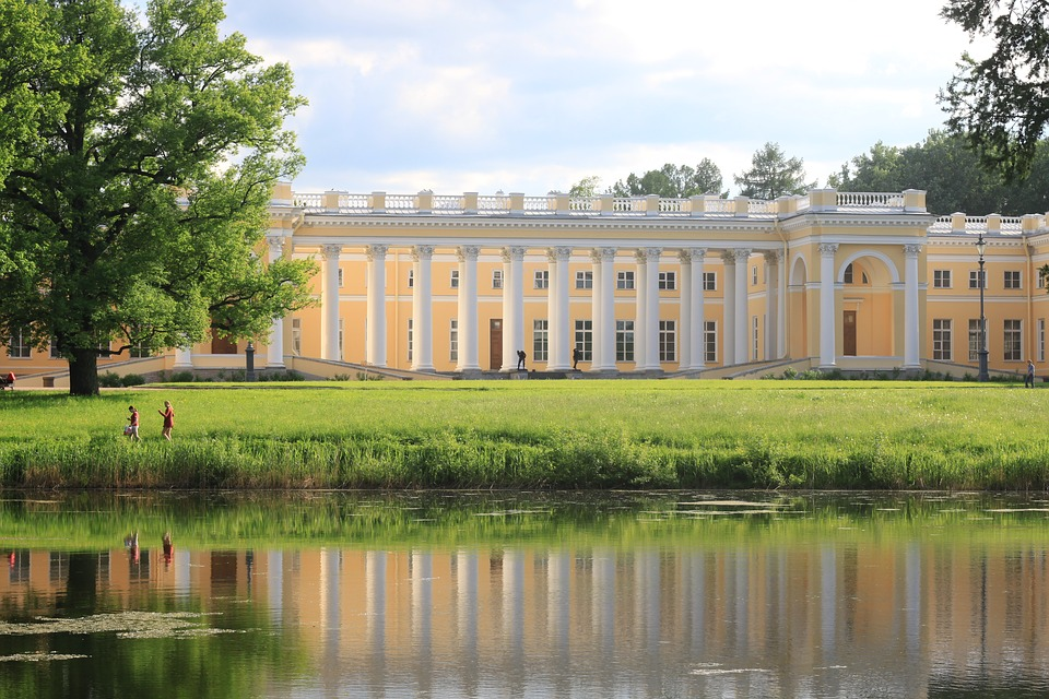 Санкт-Петербург Царское Село Александровский Дворец. Фото:  Wikimedia Commons