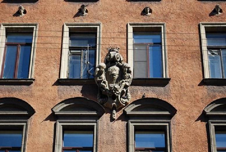 Дом Мелихова - Дом Щербакова - Дом Граббе. Фото: citywalls.ru