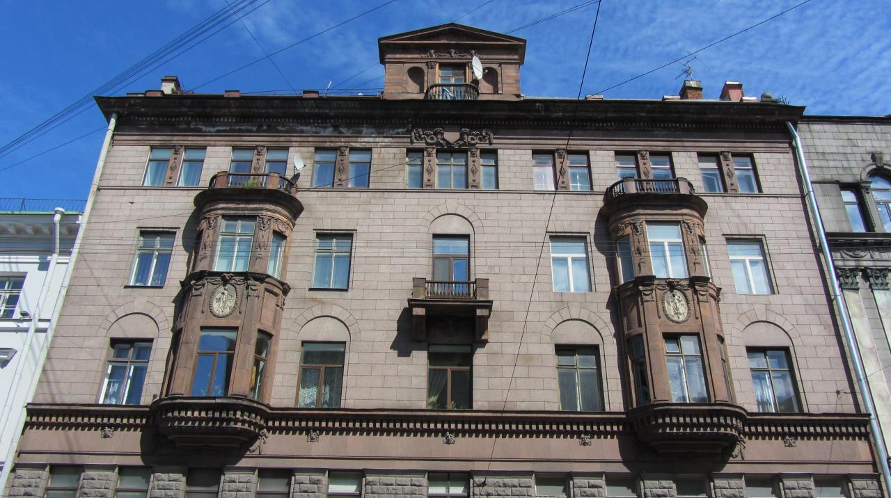 """Доходный дом страхового общества """"Саламандра"""" (citywalls.ru)"""