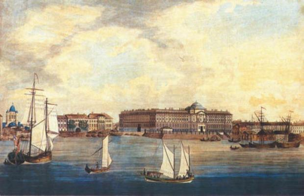 Гравюра Т. Молтона по рис. Дж.Хирна. 1789. Фото: citywalls.ru