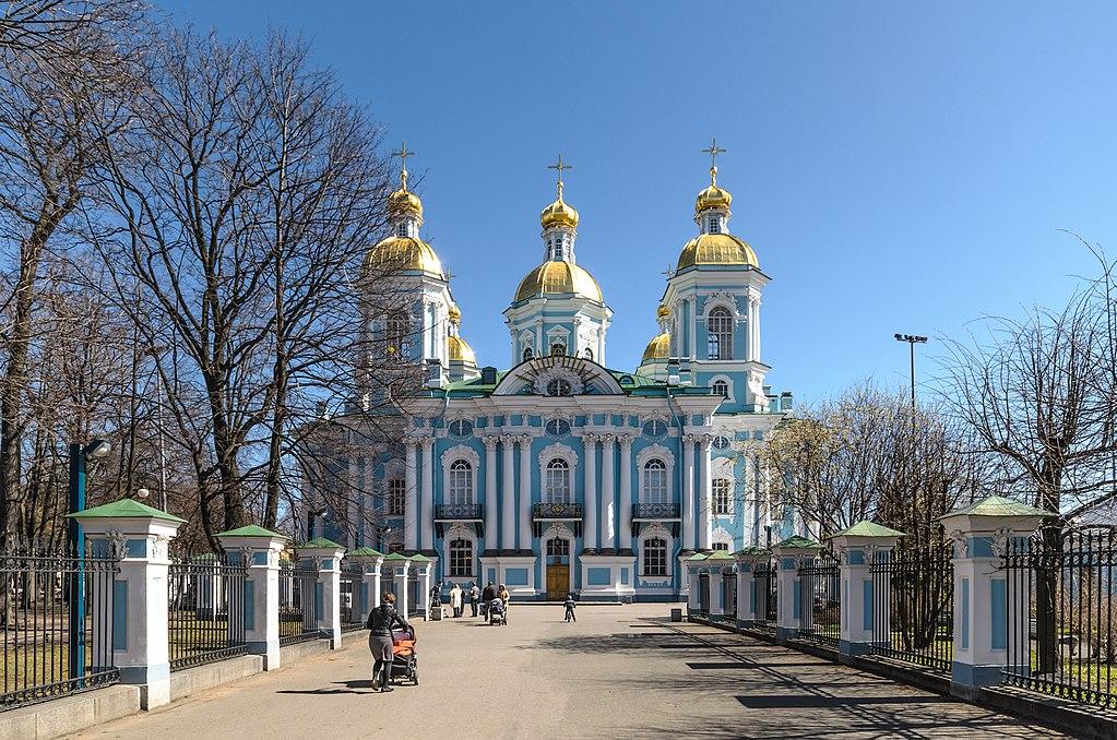 Николо-Богоявленский Морской собор. Фото: Florstein (WikiPhotoSpace)