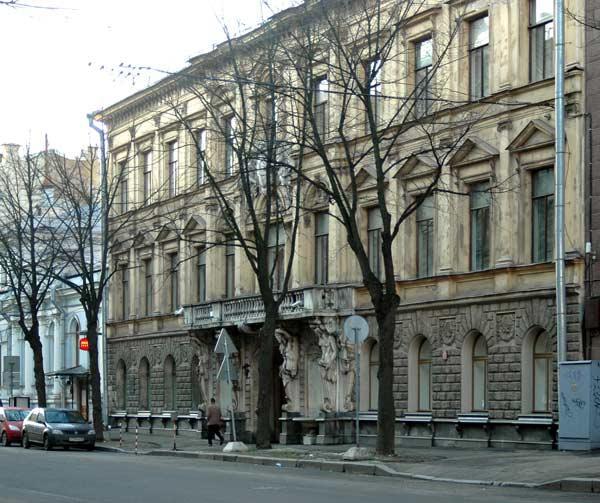 Особняк П. Н. Демидова - Посольство Италии. Фото: citywalls.ru