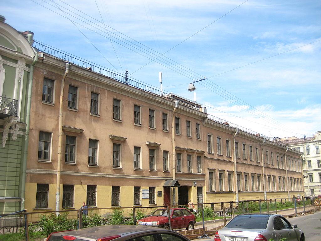 Особняк Н. М. Ламздорфа. Моховая, 1. Фото: Skydrinker (Wikimedia Commons)