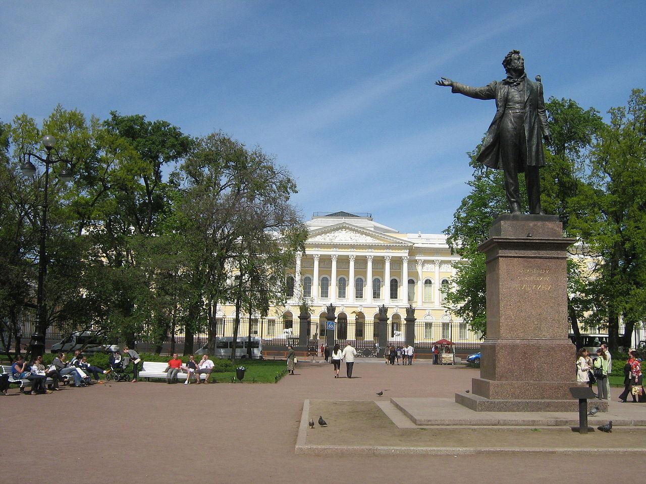 Санкт-Петербург. Площадь Искусств. Автор фото: Peterburg23 (Wikimedia Commons)