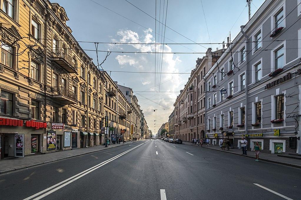 Загородный проспект. Фото: Florstein (WikiPhotoSpace)