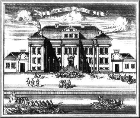 Первый дворец — Свадебные палаты, 1716 г., источник фото: Wikimedia Commons, Автор: неизвестен