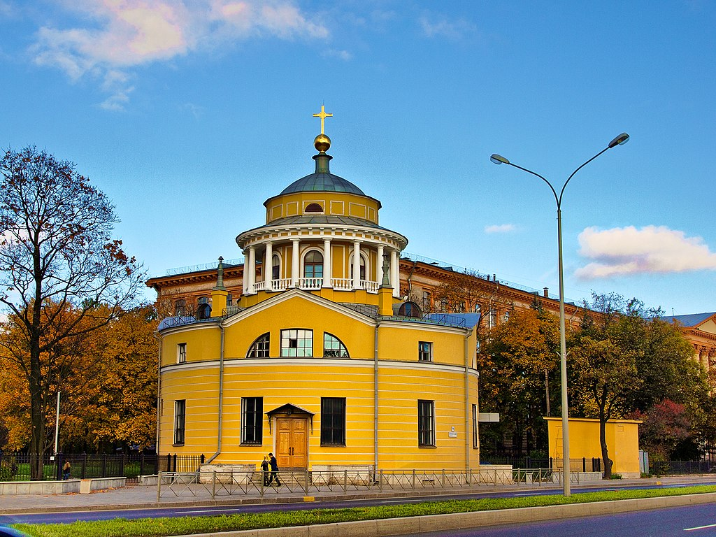 Церковь Благовещения Пресвятой Богородицы. Фото: Andrew Zorin
