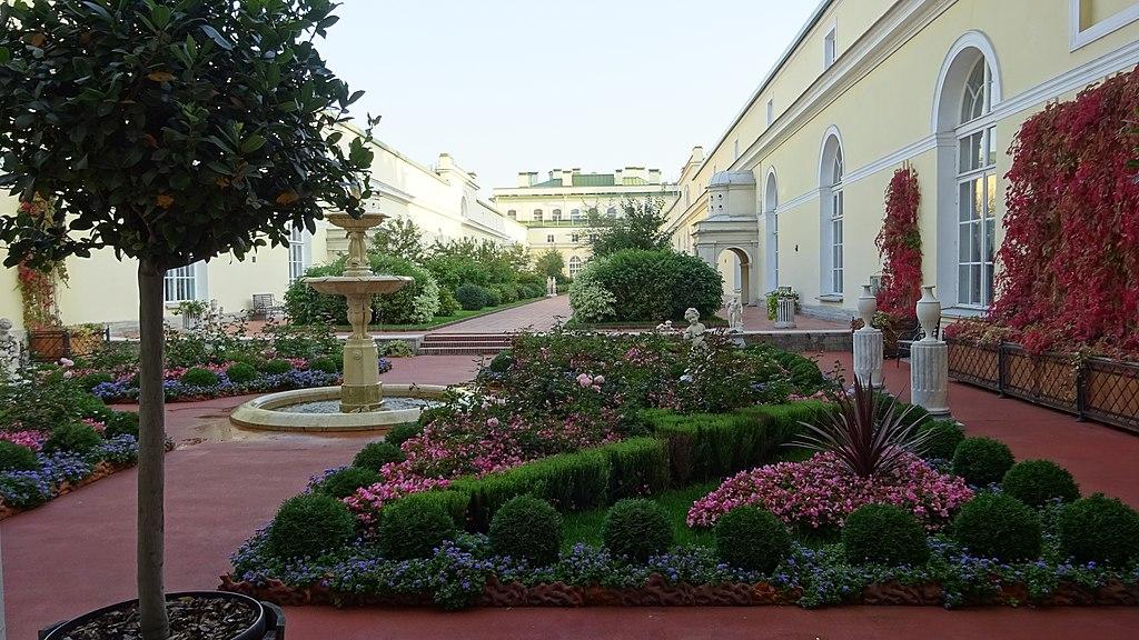 2. Висячий сад Малого ЭЖрмитажа. Фото: GolubevM
