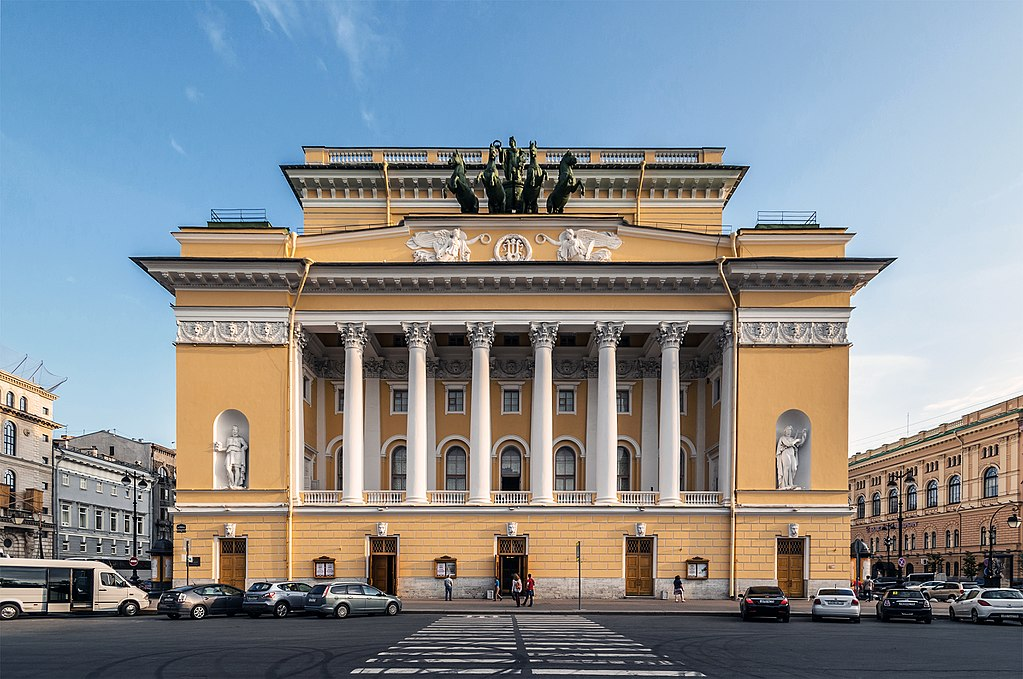 2. Александринский театр. Фото: Florstein (WikiPhotoSpace)