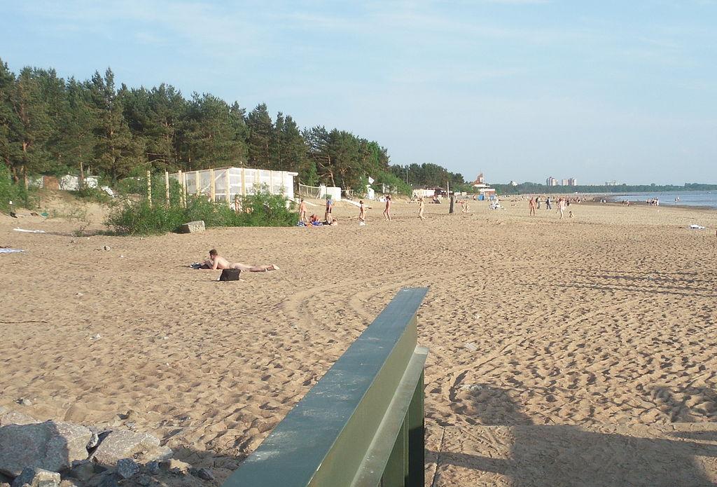 "Пляж ""Дюны"". Фото: Пётр Иванов (Wikimedia Commons)"