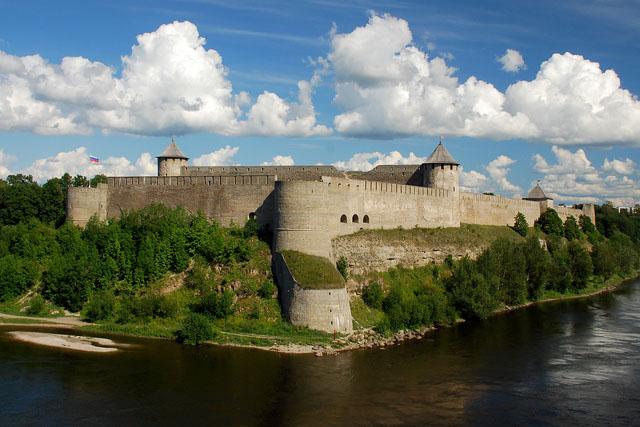 Ивангородская крепость. Фото: Simm