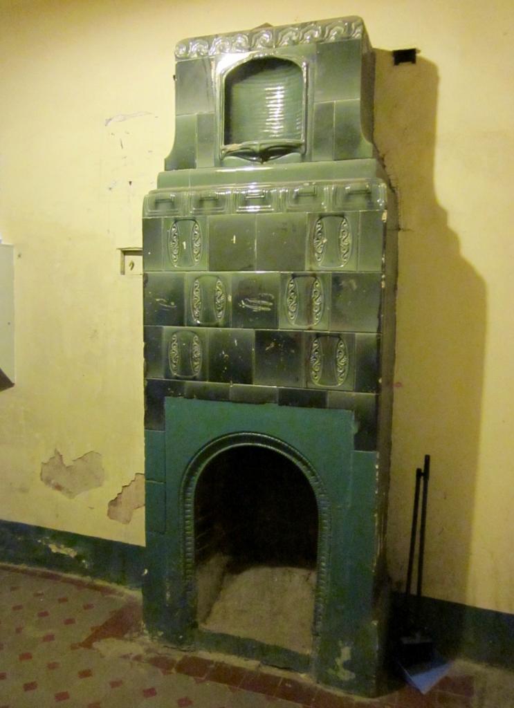 Камин в доходном доме К. И. Волькенштейн