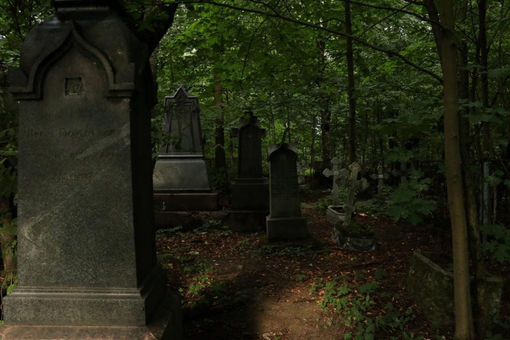 Малоохтинское кладбище. Фото: fb.ru