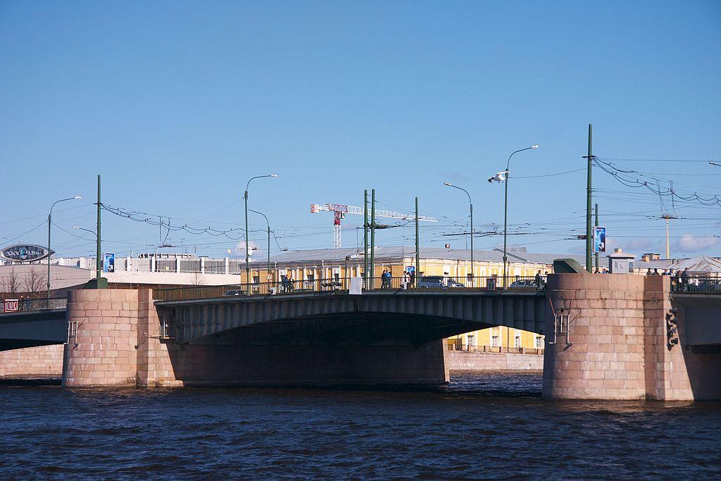 Тучков мост в Петербурге. Фото: Panther