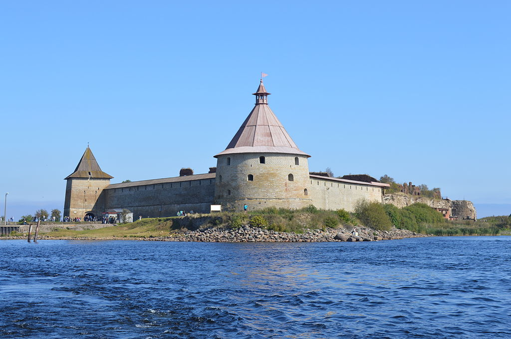 Крепость Орешек. Фото: Evgen72 (Wikimedia Commons)
