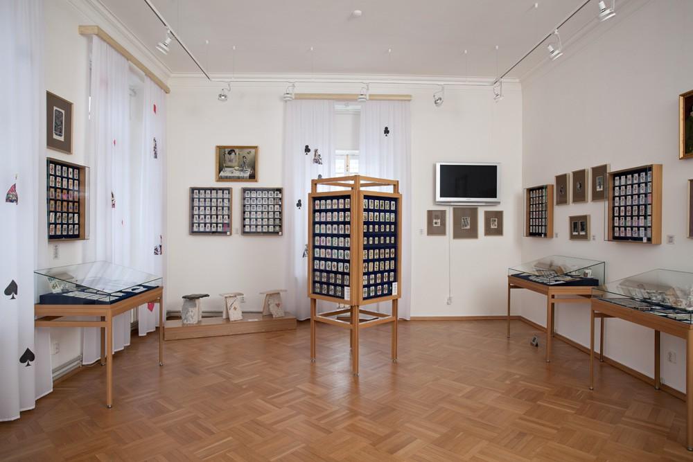 Один из залов музея «Игральных карт» в Кавалерском доме Петергофа. Фото с официального сайта