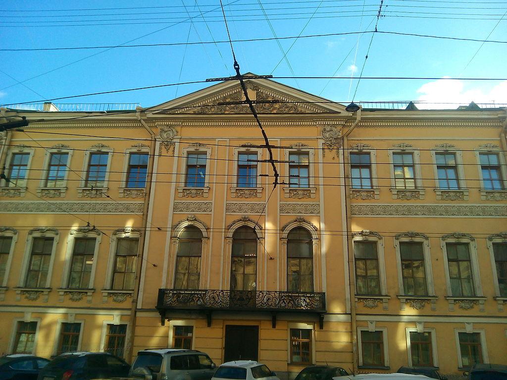 Малая Морская улица, дом № 10. Источник:https://commons.wikimedia.org/wiki/