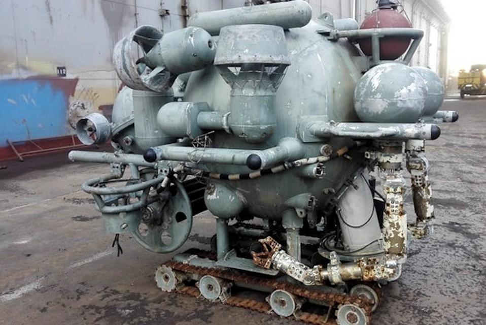 Кронштадтский музей под открытым небом. Необитаемый телеуправляемый робототехнический морской комплекс. Фото: Пресс-служба ЗВО