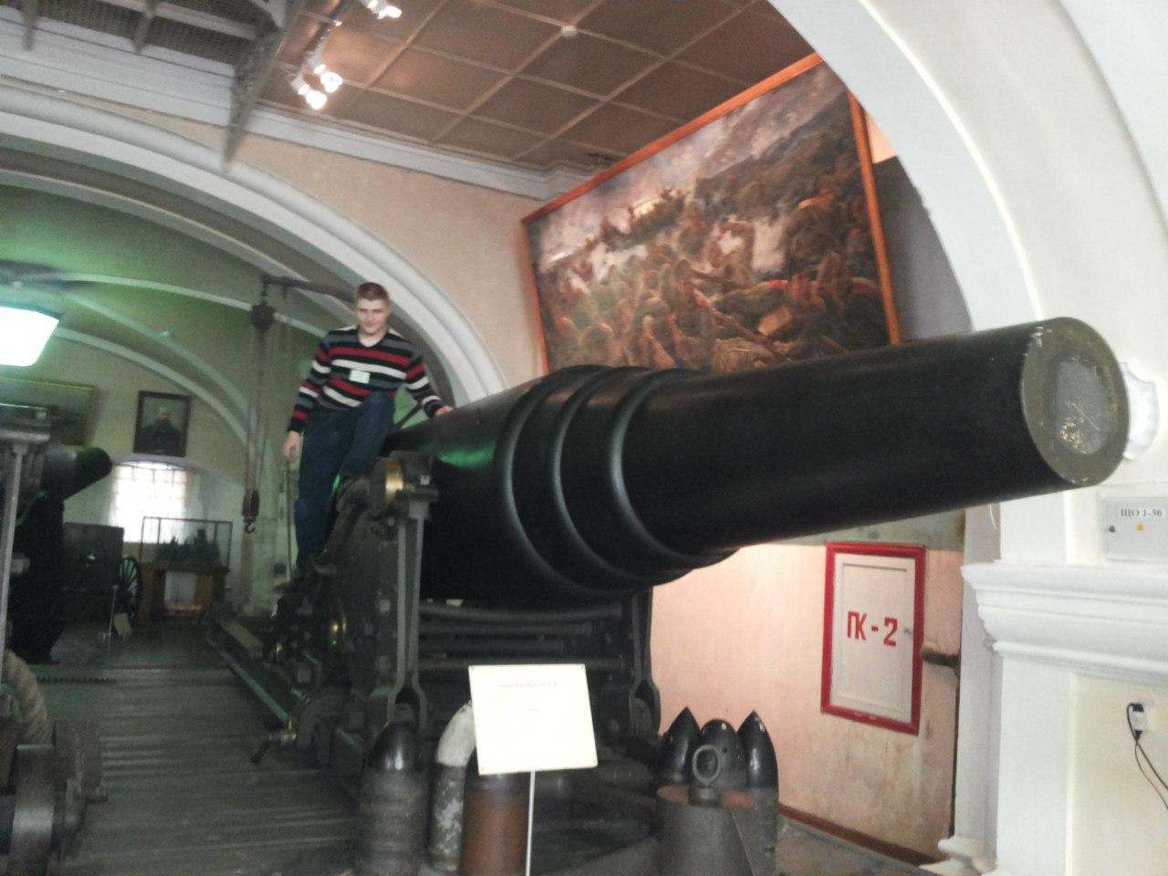 Музей артиллерии. Фото: Пётр Цымбал