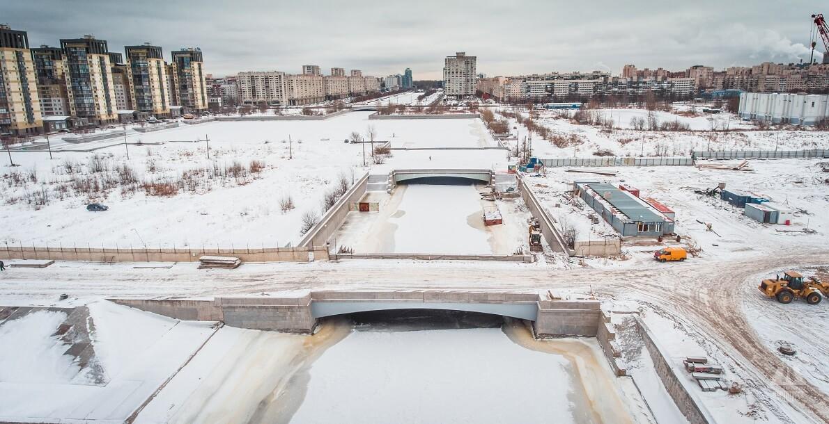 3-й Смоленский мост. Фото: Mostotrest-spb.ru