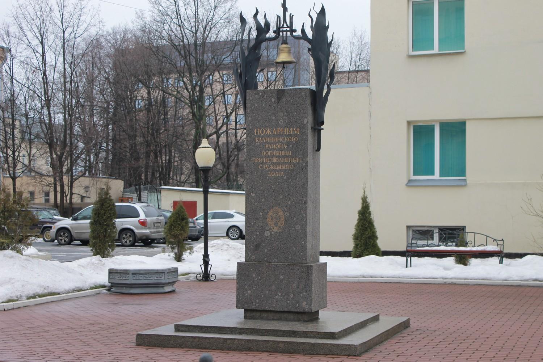Мемориал, посвященный подвигу пожарных. Автор Арина Л.