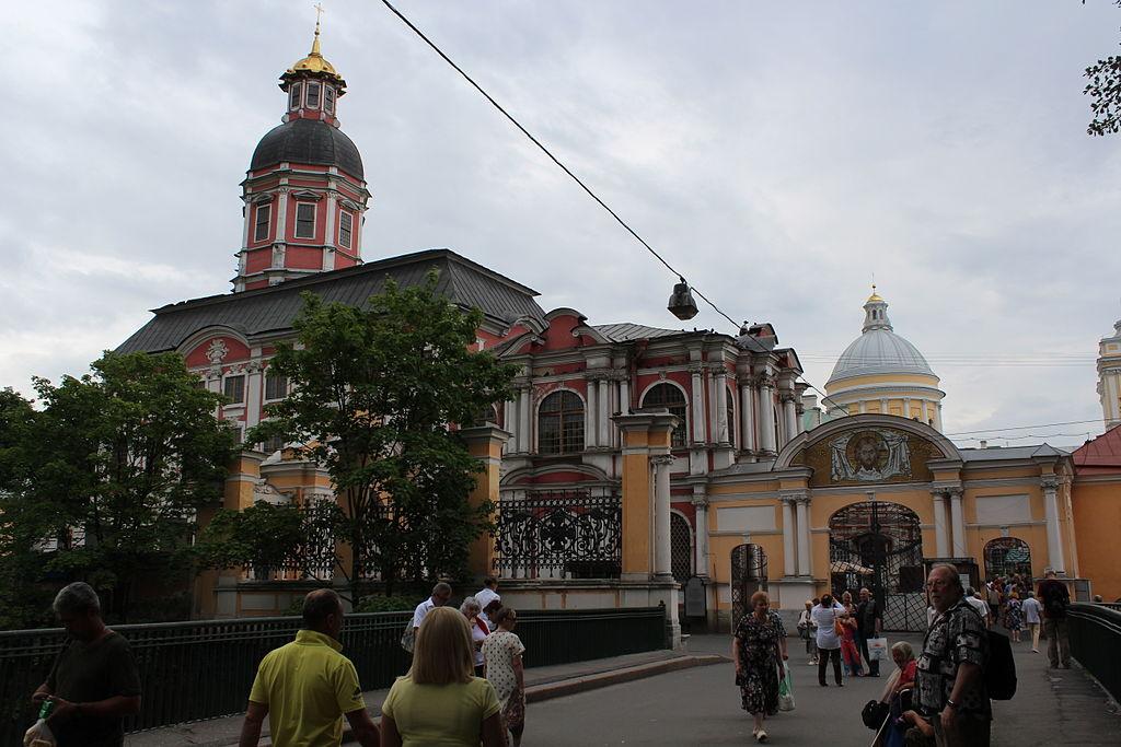 Alexander Nevsky Lavra (Monastery), Saint Petersburg. Фото: Deror_avi