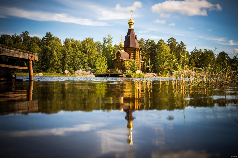Церковь Андрея Первозванного на Вуоксе. Фото: Пикабу