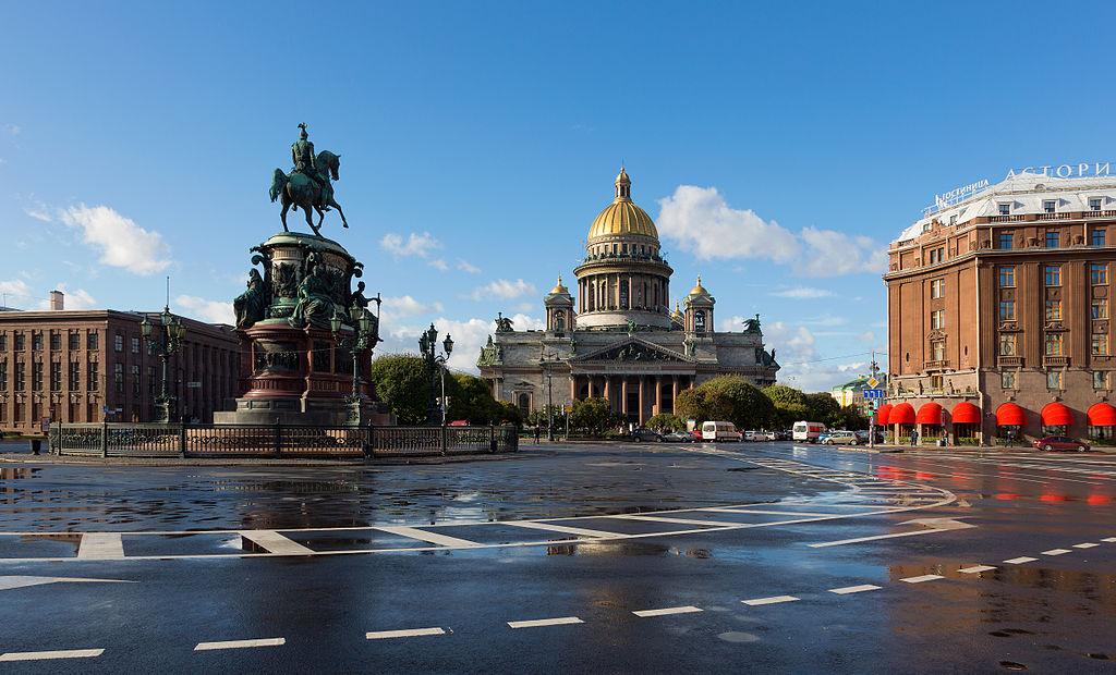 Исаакиевская площадь. Фото: Pavlikhin