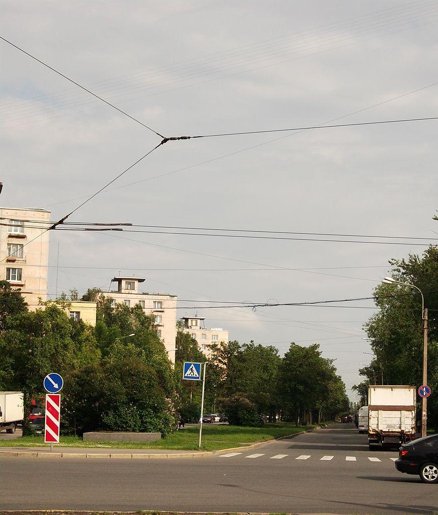 Улица Подводника Кузьмина. Фото: Martsabus