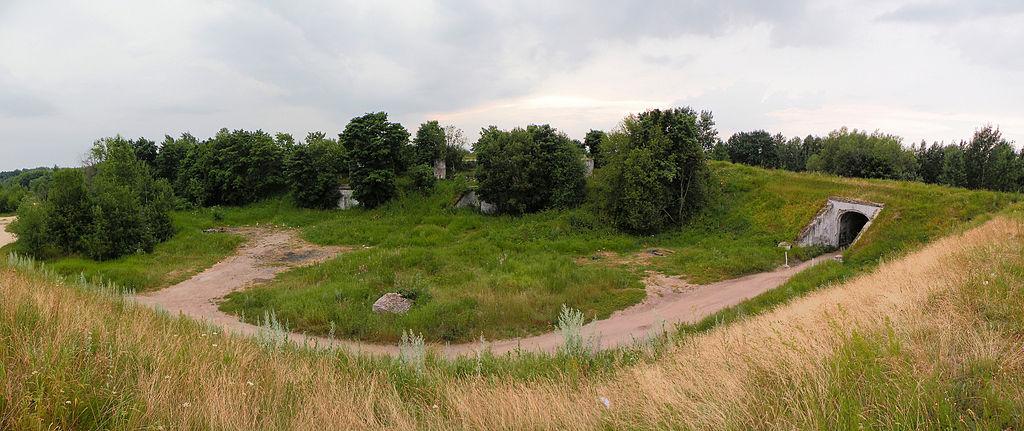 Форт Шанц. Фото: Витольд Муратов (Wikimedia Commons)