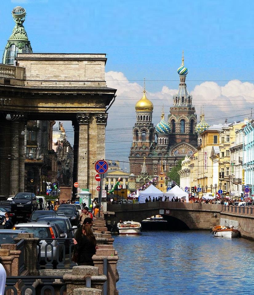 Канал Грибоедова. Фото: Tanyaspic