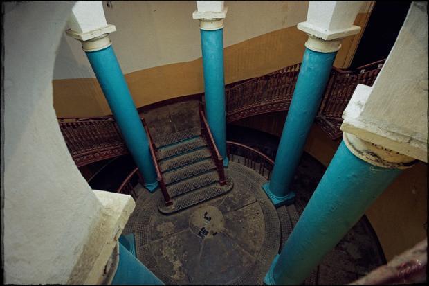 Ротонда. Лестница wikimapia