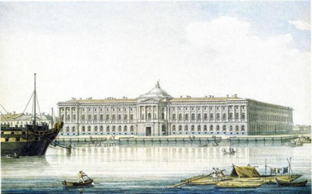 Академия художеств. М.Н. Воробьев. 1813. Фото: citywalls.ru