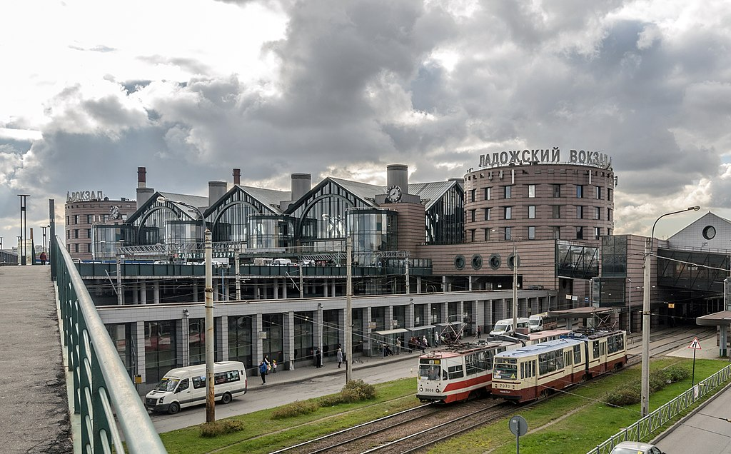 Ладожский вокзал. Автор фото: Florstein (WikiPhotoSpace)